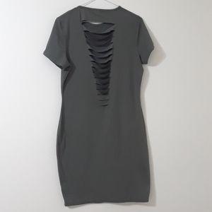 3/22$ Ardene open back dress